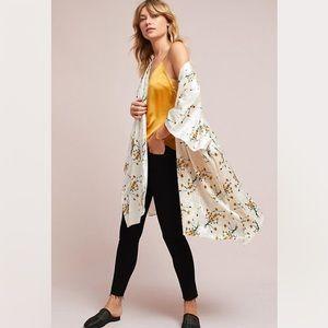 Floreat Velvet Kimono